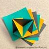脳トレに最適!風船基本形から作るユニット折り紙。
