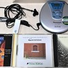 テクノソフトのゲームミュージックCDをポータブルCDプレイヤーで聴く