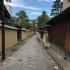 金沢観光 静寂の長町武家屋敷街跡、石畳と用水路の道 、金沢の観光の足「ふらっとバス」レンタサイクル「まちのり」