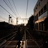 Crossing at dawn