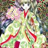 「ランタナ姫」色鉛筆&鉛筆オリジナル平安イラスト:ドライアイは不治の病!?