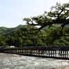京都・嵐山の渡月橋(2018年5月)