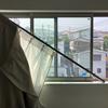 部屋のカーテンレールが脱落! DIYで直してみた。