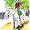 カップルにはオススメの都内乗馬体験