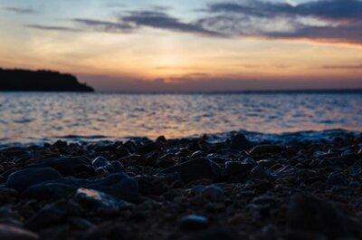 一人で眺めた沖縄の夕日[沖縄一人旅#5]