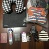 タイ旅行への出発準備完了! LCC短期旅行の必需品!