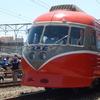 【鉄道ニュース】小田急電鉄ロマンスカー「SE」3000形3021編成の3両がロマンスカーミュージアムに搬入