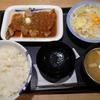 厚切りトンテキ定食(シャリアピンソース)。松屋