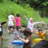 2日目!山登りの予定を川遊びに変更〜