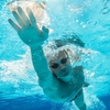 泳いできました ~太もも故障~