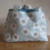 春模様の巾着バッグ