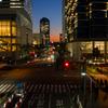 パシフィコ横浜の夕景