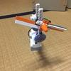 レゴで首振りの扇風機を作った