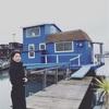 海に浮かぶ家