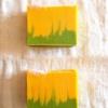 マッサージ用のマカダミアナッツオイル50%で石鹸作ってみました