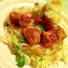 柚子胡椒風味でサッパリ鶏肉と生野菜のおろしうどん