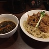296. 肉盛りつけ麺@6代目けいすけ(湯島):バラ肉好きにはたまらない一品!
