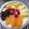 ファミマの「たっぷりフルーツのしろくま」【コンビニアイス・かき氷】