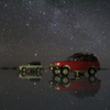 【これがウユニの絶景】ウユニ塩湖の星空の宇宙バージョンとサンライズ☆☆