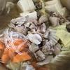 塩ちゃんこ鍋を作った