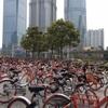 どこが勝利するのか?上海自転車シェア争い