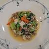 お肉も野菜もお豆腐も、卵も全部入れちゃった(^^♪素材の味がてんこ盛り「牛肉と小松菜の炒り豆腐」