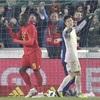 日本代表、ベルギーに0―1…欧州遠征は2連敗