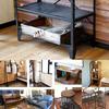 今週はビンテージ感漂うBIMAKES(ビメイクス)の家具、シェルフ・ハンガー・チェアー・スツール・ダイニングテーブル・サイドテーブル・ソファの計19点をアップ致しました。