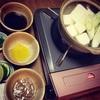 湯豆腐が美味しくなる季節!オリジナルの付けダレでワインと楽しむ!!
