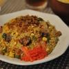 玄米で野菜たっぷりのピリ辛台湾炒飯
