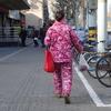 肉々しい上海の街をお散歩