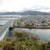 青海島へ渡る・王子山公園:山口県長門市