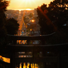 宮地嶽神社の光の道、の一週間前!
