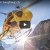 ユングフラウヨッホの空をヘリコプターでフライト