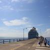 【コスタリカ・プンタレナス港】盛りだくさんのツアーが揃う、長~い半島に、長~い桟橋の港