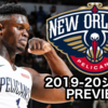 【2019-20チームレビュー】ニューオリンズ・ペリカンズ