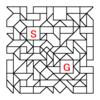 四角渡り迷路:問題21