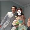 飯給周回練とサイカ夫妻結婚披露パーティー