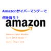 Amazonサイバーマンデーで何を買う?