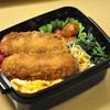 いかフライ弁当と赤魚煮付け