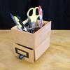 ペン立ての作り方 セリアのドロワーボックスをアレンジした簡単100均diy