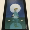 sun and moon tarot : queen of cups