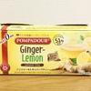 【ポンパドール】じんわり暖か寝る前のハーブティ 100%ナチュラルのジンジャー&レモン