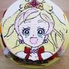 三歳女子にはプリキュアのケーキ♪