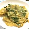 玉子を使って脇役食材を生かす料理、大葉の玉子焼きと胡麻入りニラ玉スープ♪
