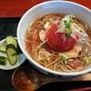 大蔵村 大蔵山蕎麦ねぎぼうず 大蔵産トマトと十割そばをご紹介!🍜