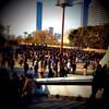 2013/1/27 THE BAWDIES 4th ALBUM「1-2-3」発売記念フリーライブ @大阪城公園