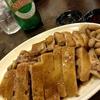 香港地元飯、大牌檔 :ガチョウの鹵水、ガチョウの腸の炒め物