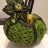 ハロウィンと言えば かぼちゃですよね! 芸術の秋  ベジタブルカービングの世界③