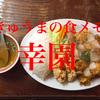 幸園でボリュームたっぷりの中華料理を堪能してきた!【高知市】